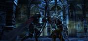 Gabranth-clashes-with-Reddas-FFXII-TZA