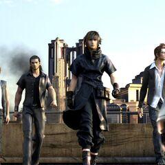 Здание, которое было предшественником Цитадели в <i>Final Fantasy Versus XIII</i>.