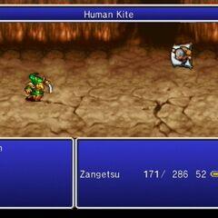 Human Kite.