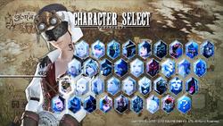 UFFFXIV Character Select