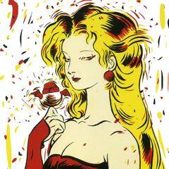 Рисунок Терры работы Ёситаки Амано для художественной коллекции <i>Virgins</i>.