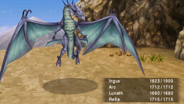 Bahamut Final Fantasy Iii Boss Final Fantasy Wiki Fandom