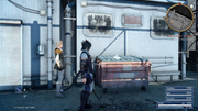 Oversize Refuse Collection Request in FFXV