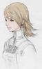 Refia cutscene concept sketch for Final Fantasy III 3D