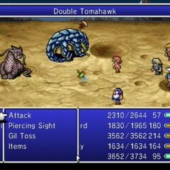 Double Tomahawk.