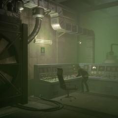 Poison gas console.