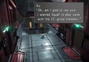 Card Club inside Ragnarok Xu from FFVIII Remastered