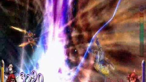 Dissidia 012 Final Fantasy - Gilgamesh's EX Burst
