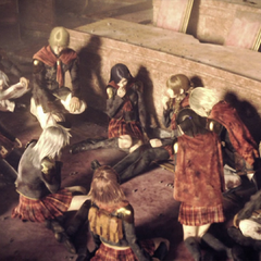 The standard ending of <i>Final Fantasy Type-0</i>.