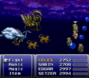 FFVI Added Ability Summon