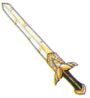 Royal Sword FFIII Art