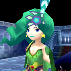 Rydia rejoins the party as an adult (DS/iOS).