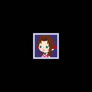 Aerith's icon.