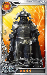 FF12 Judge Gabranth SR F Artniks