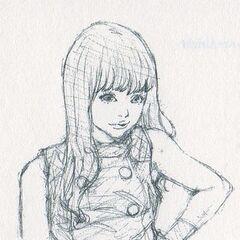 Sketch by Sho-u Tajima.