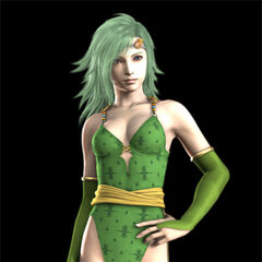 A work in progress of Rydia's CG render.