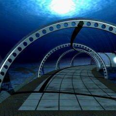 Подводный тоннель.