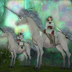Unicorn Mounts (Final Fantasy XIV)