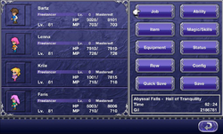 FFV iOS Menu