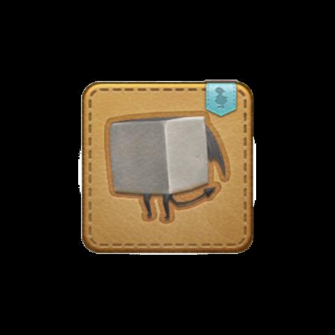 La mascota Demon Brick obtenible en Amdapor Keep.