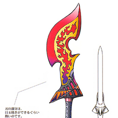 Flame Saber in <i><a href=