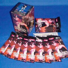 Official Triple Triad box with 15 packs of cards, with random 10 cards per pack.