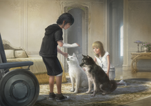 Young Noctis and Luna