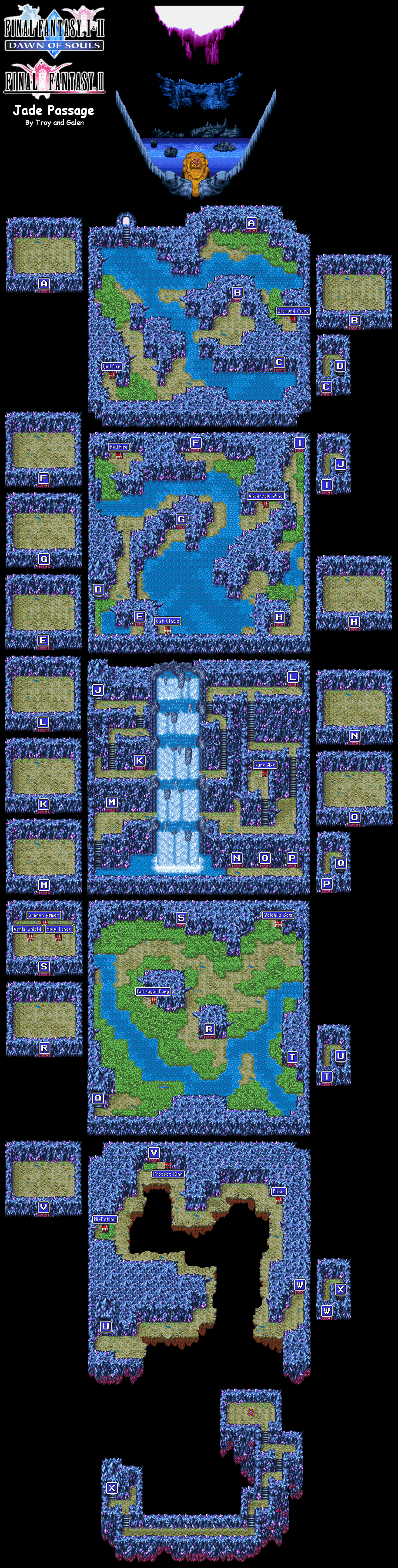 Image - FFII JadePassage Map.png | Final Fantasy Wiki | FANDOM ...