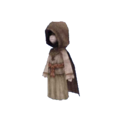 Cloaked model.