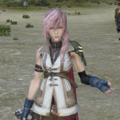 Lightning as she appears in the game.
