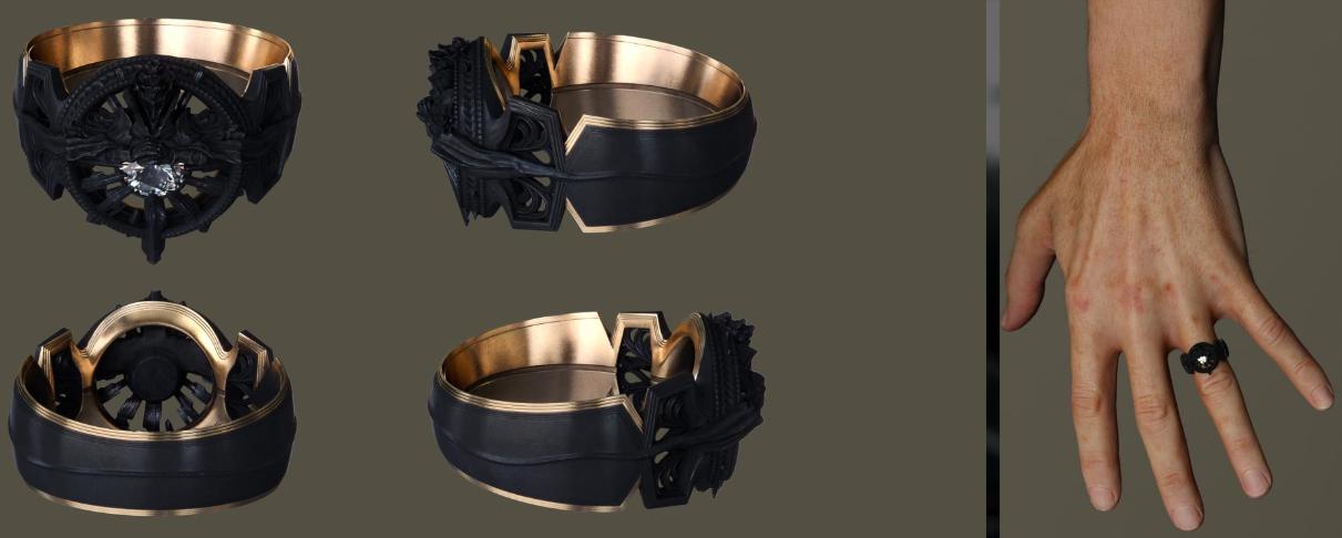 Ring Of Lucii Replica