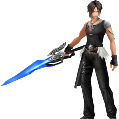 Squall's second alt outfit, based on his Yoshitaka Amano artwork.