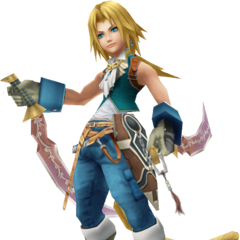 In-game render of Zidane.