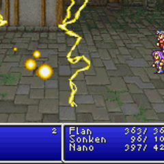Thunder1 cast on all enemies in <i><a href=