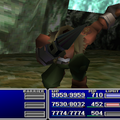 Barret using Sense in <i><a href=