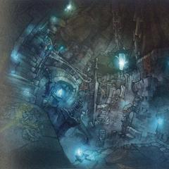 Subterranean labyrinth (unused).