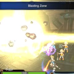 Blasting Zone.