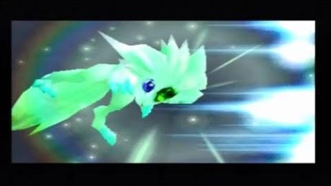 FFIX Carbuncle Emerald Light