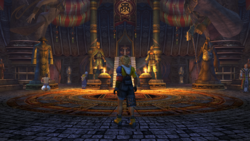 FFX HD Besaid Temple Inside