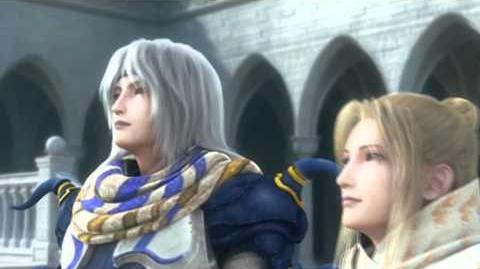 Final Fantasy IV The After Years Opening Cutscene PSP
