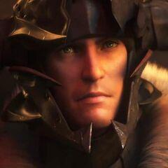 CG Midlander como um warrior.