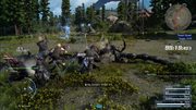 Saphyrtails in Timed Quest in FFXV