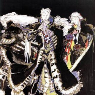 Рисунок Сетцера работы Ёситаки Амано.