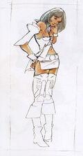 Ashe Concept Sketch