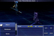 Dragoon crystal chamber FFIV IOS Battle