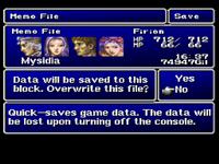 FFII Memo Save