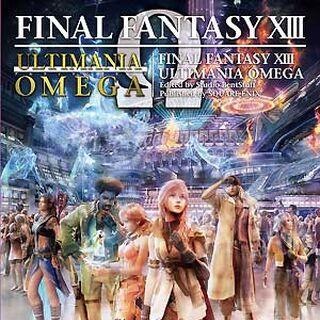 <i>Final Fantasy XIII Ultimania Omega</i>.