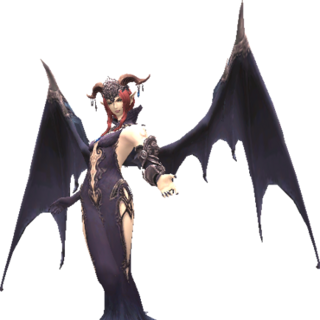 Lady Lilith's battle model.
