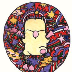 Различные изображения Мога работы Ёситаки Амано.