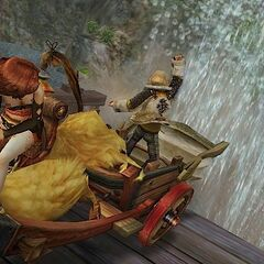 Chocobo wagon.